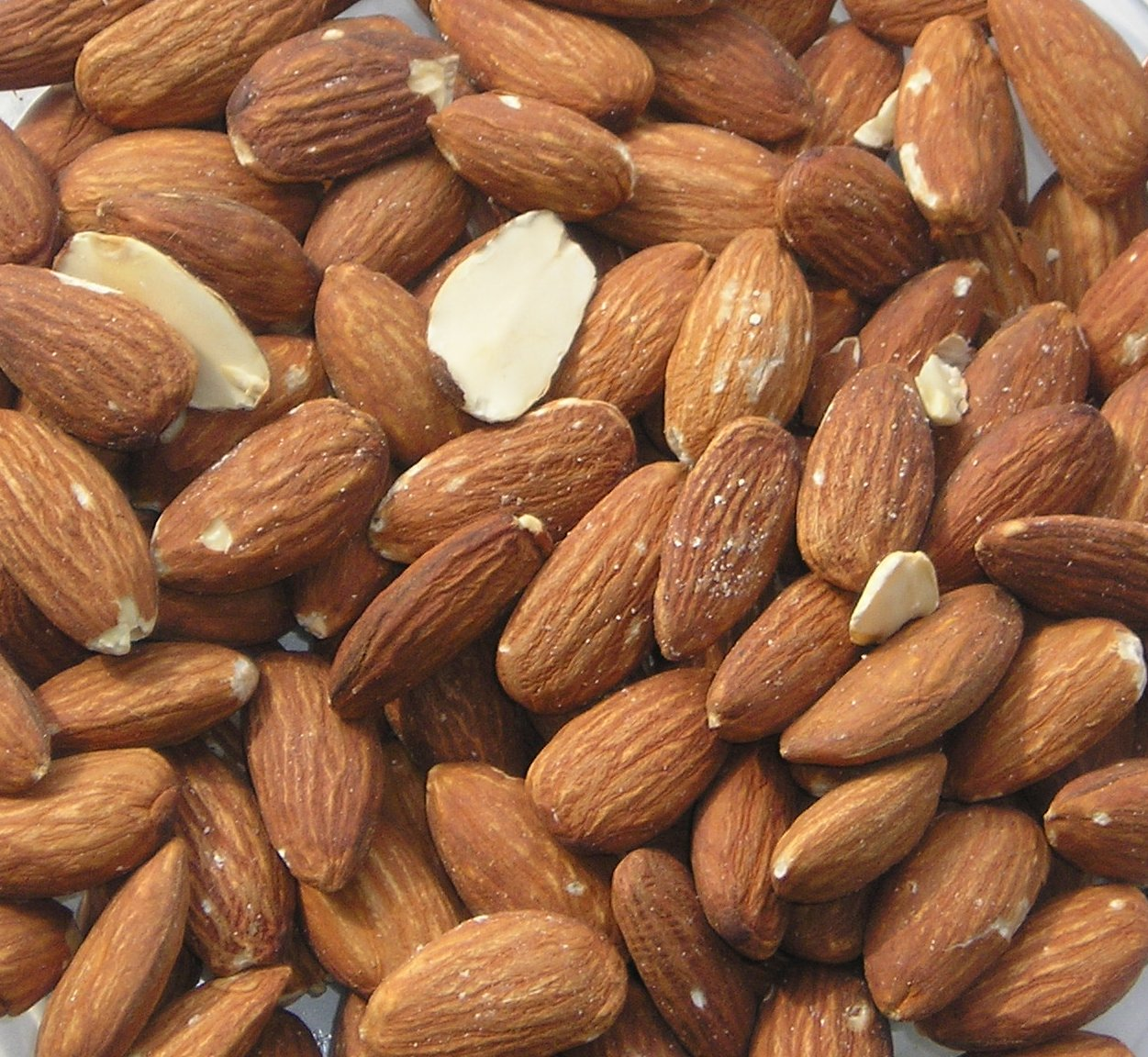 Almonds, almonds, the non-musical fruit.